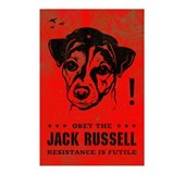 Obey the Jack Russell! Postcards (Pack of 8)