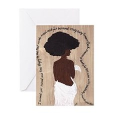 I Loved You Naked Greeting Card