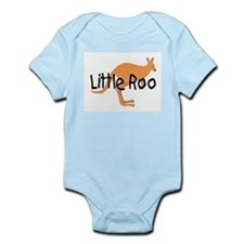 LITTLE ROO - BROWN ROO Onesie