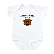 I JUMP ON THE BED! Infant Bodysuit