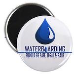 """Waterboarding 2.25"""" Magnet (10 pack)"""