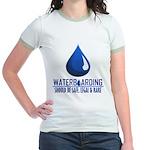 Waterboarding Jr. Ringer T-Shirt
