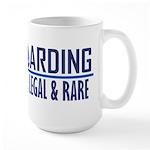 Waterboarding Large Mug