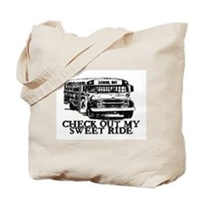 SWEET RIDE II (BUS) Tote Bag