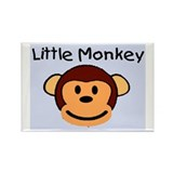 LITTLE MONKEY Rectangle Magnet (10 pack)