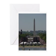 Funny March dc Greeting Cards (Pk of 10)