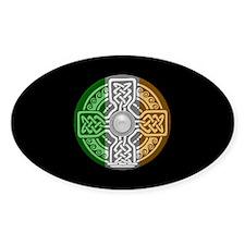 Celtic Shield Oval Sticker (50 pk)