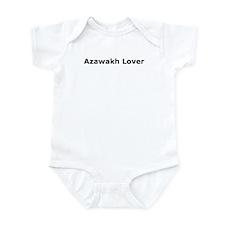 Cute Azawakh Infant Bodysuit