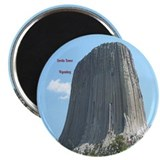 "Devils Tower 2.25"" Magnet (10 pack)"