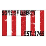 Sons of Liberty Est. 1765 Rectangle Sticker 50 pk