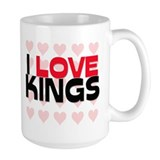 I LOVE KINGS Mug