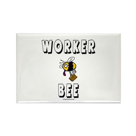 Worker bee dad Rectangle Magnet (10 pack)