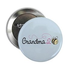 "Grandma To Bee 2.25"" Button"