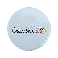 "Grandma To Bee 3.5"" Button"