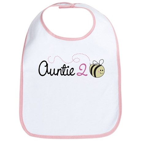 Auntie To Bee Bib