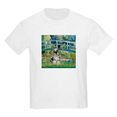 Bridge / Miniature Schnauzer Kids Light T-Shirt