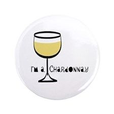"Chardonnay Drinker 3.5"" Button (100 pack)"