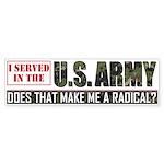 Army Bumper Sticker (50 pk)