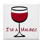 Malbec Drinker Tile Coaster
