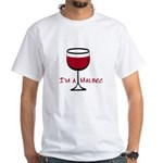 Malbec Drinker White T-Shirt
