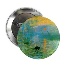 "Claude Monet 2.25"" Button"