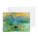 Claude Monet Greeting Card