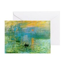 Claude Monet Greeting Card