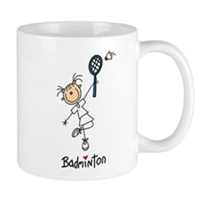 Girl's Badminton Mug
