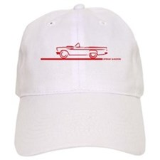 57 T Bird Top Down Baseball Cap