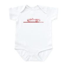 57 T Bird Top Down Infant Bodysuit