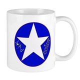 Mad Color White Star 2Mug