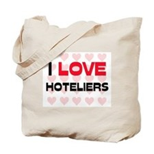 I LOVE HOTELIERS Tote Bag