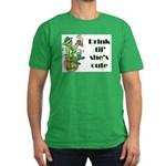 ST PATRICK'S DAY-IRISH DRINK Men's Fitted T-Shirt