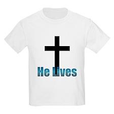 He lives Kids T-Shirt