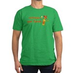 Cerveza Por Favor Men's Fitted T-Shirt (dark)