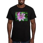 American Robin Fledgling Men's Fitted T-Shirt (dar