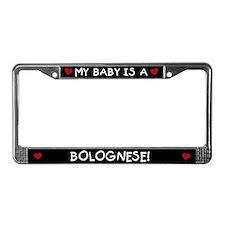 Bolognese License Plate Frame