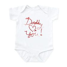 Daddy Loves You Infant Bodysuit