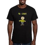 Ah Crap Men's Fitted T-Shirt (dark)