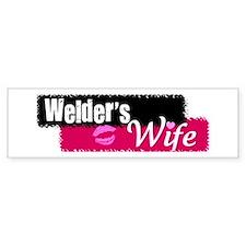 Welder's Wife Bumper Bumper Sticker