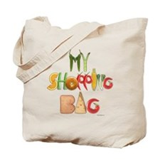 My Shopping Bag canvas tote