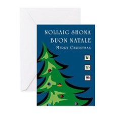 Irish Italian American Christmas Cards (6) (tree)