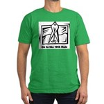 On to the 19th Hole Men's Fitted T-Shirt (dark)