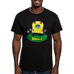 Noooo! Men's Fitted T-Shirt (dark)