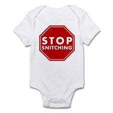 Stop Snitching Infant Bodysuit