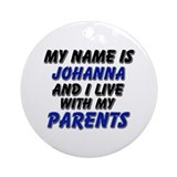 my name is johanna and I live with my parents Orna