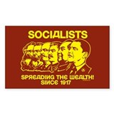 Socialists Obama Rectangle Sticker 10 pk)