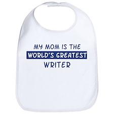 Writer Mom Bib