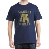 manilla gorilla mohammed ali retro T-Shirt
