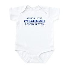 Telemarketer Mom Infant Bodysuit